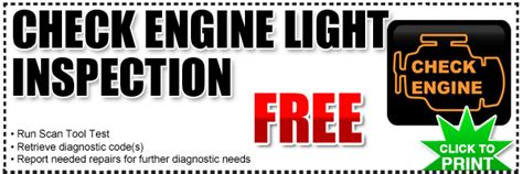 Check Engine Light Diagnosis by Diagnostic Free Check Engine Light Diagnostic