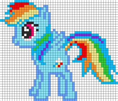 my pony perler bead patterns rainbow dash my pony perler bead pattern bead