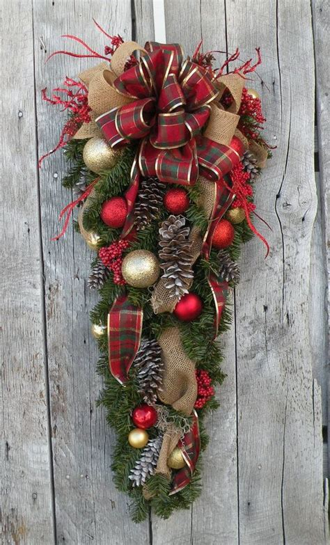 Swag Wreaths Front Door 339 Best Wreaths Images On Ornaments Door Wreaths And Wreaths