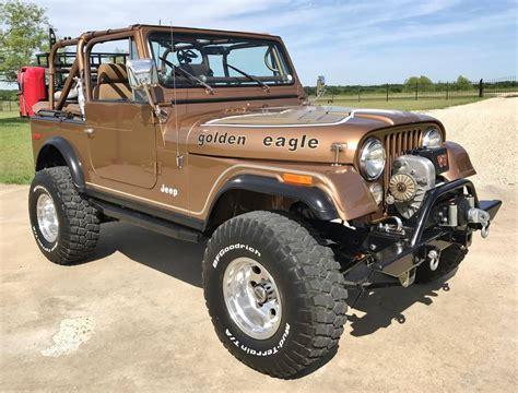 classic jeep jeep cj7 golden eagle lone star classic carslone star
