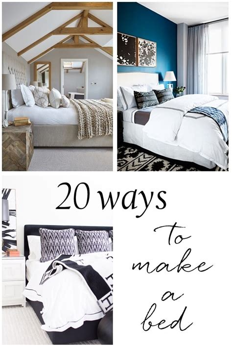 how to make your bed 20 ways to make a bed centsational style