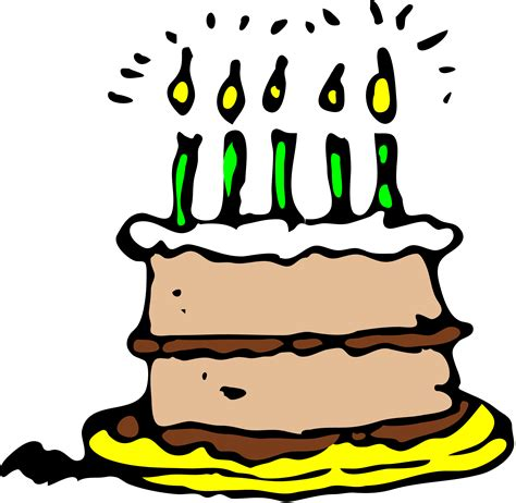 clip art birthday cakes cliparts co