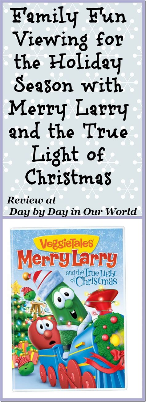 merry larry and the true light of christmas day by day