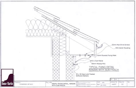 Cornice Lengths House Martin Construction Installation Information