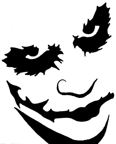 Ou Pumpkin Carving Templates by Joker Card Pumpkin Stencil Www Imgkid The Image