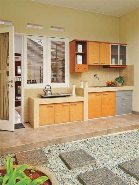 desain interior dapur vintage menyiasati dapur terbuka di rumah sederhana www rumah com
