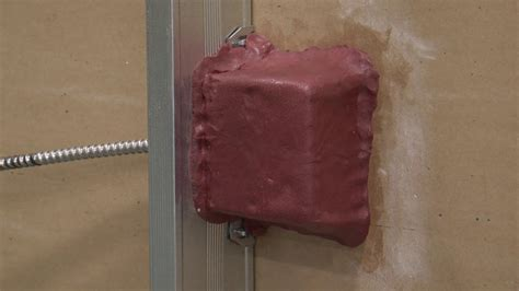 fire stop putty pad installation youtube