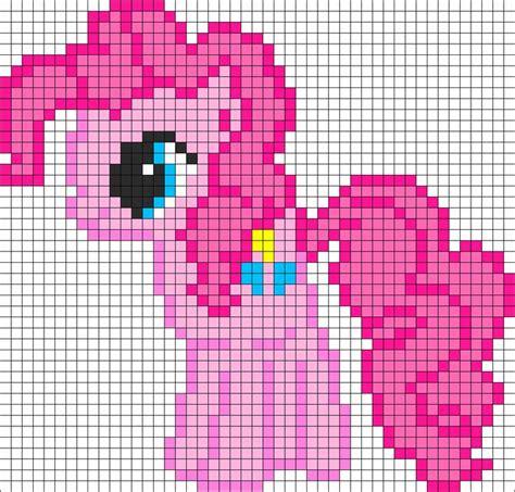 Pattern Illusion World My Own World 4 Series Khalezza Tria N pinkie pie my pony perler bead pattern bead sprite cross stitching