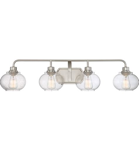 Quoizel Vanity Light Quoizel Trilogy 4 Light Bath Vanity Light Ls