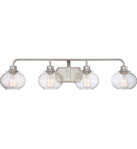 Quoizel Vanity Light Quoizel Trilogy 4 Light Bath Vanity Light Ls