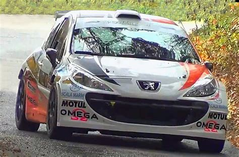 peugeot 207 rally tribute peugeot 207 s2000 pure sound rally show hd youtube