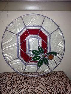 ohio state buckeyes home decor stained glass ohio state buckeye sun catcher wall hanging