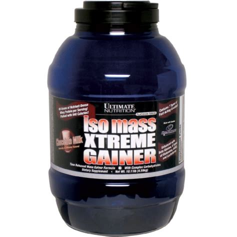 Gainer Terbaik Dari Muscletech Nutrition jual ultimate nutrition isomass xtreme gainer 10 11 lb toko suplemen toko suplemen