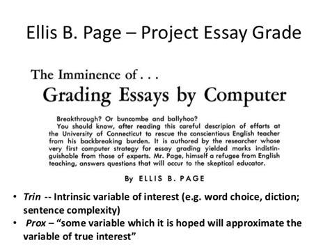 Free Automated Essay Scoring by Automated Essay Grading