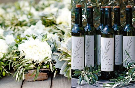 Wedding Favors Olive by Olive Branch Wedding Ideas