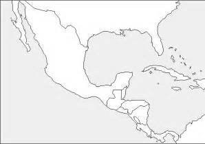 Outline Map Of Mexico And Central America by Blank Central America Map Quiz