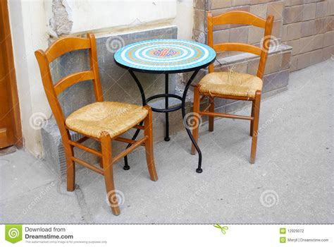 Coffee Table And Chair Chairs And Table Coffee Restaurant Stock Photography Image 12929072