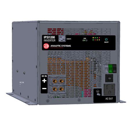 Tbe Inverter Sine Wave 1200w 12vdc To 220vac analytic 1200w 40 80v input 110 vac output intelligent sine wave inverter ipsi1200 40 100