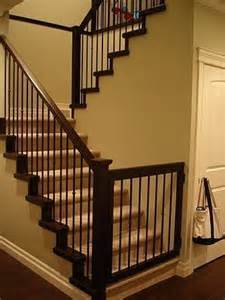 Baby Gate For Stairs With Banister And Wall by Baby Gate To Match Banister Bambinos