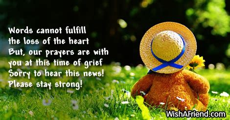 Words Of Comfort For Loss Of A Child by Sympathy Messages For Loss Of Child