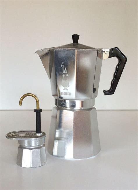 Cafetera Percolator Coffee Teko Kopi Moka Pot Alumunium 9 Cup White caffettiera bialetti da 12 tazze h cm 29 piccola caffettiera napoletana h cm 16 in