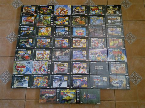 Nintendo 64 Collection 157 In 1 gemini s sealed pal nintendo 64 collection collection showcase sealed heaven