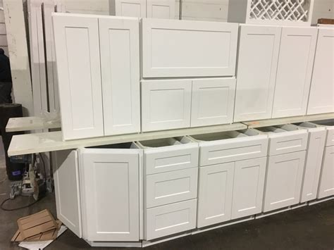 arctic white kitchen cabinet set