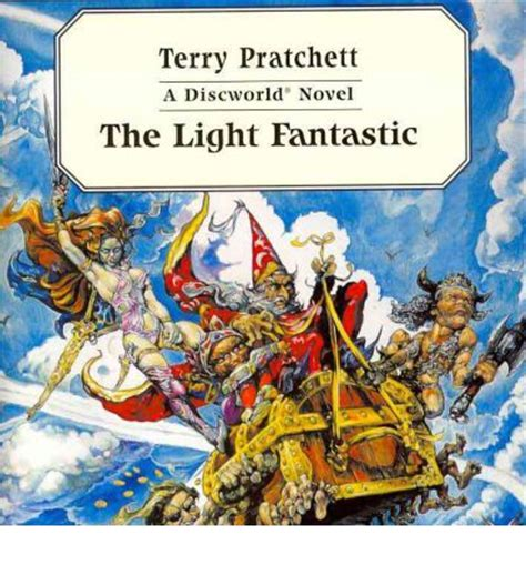 The Light Fantastic by The Light Fantastic Terry Pratchett 9780753107393
