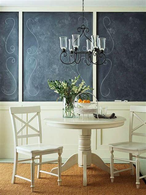chalkboard wall white dining room decor chalkboard paint wall decor decor
