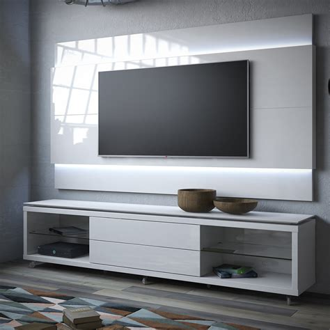 tv walls manhattan comfort lincoln tv stand w casters lincoln