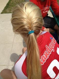 soccer hairstyles on pinterest volleyball hairstyles