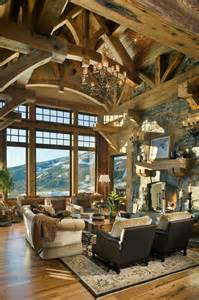 Rustic Livingroom by 40 Awesome Rustic Living Room Decorating Ideas Decoholic