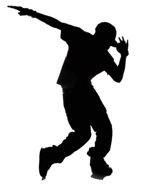 Vector Artwork Definition by Best Zumba Dancer Clipart Hip Hop Silhouette Library
