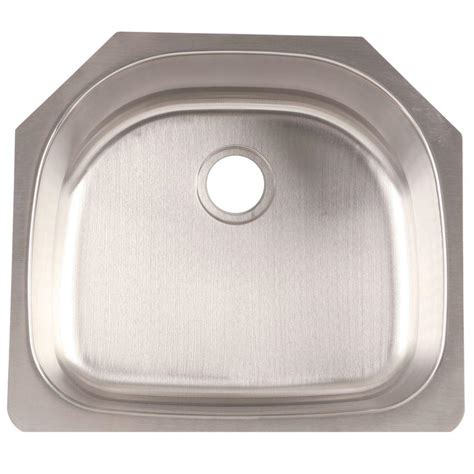 franke stainless steel sinks undermount franke undermount stainless steel 24x21x9 0 hole single