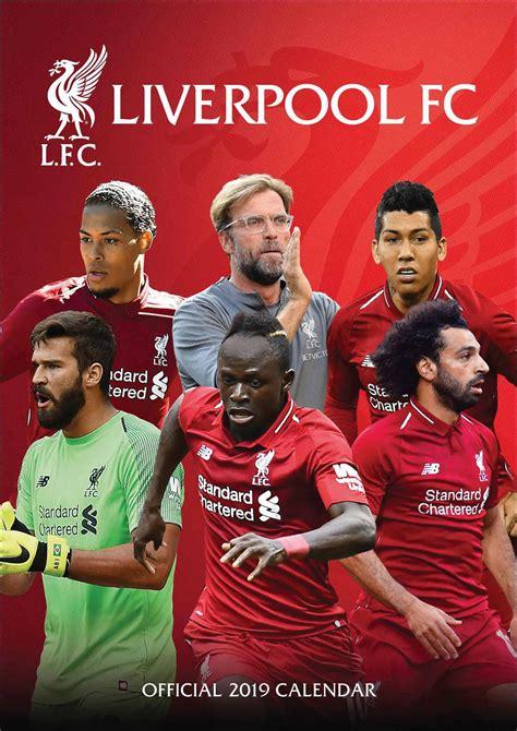 liverpool fc a3 calendar 2019 calendar club uk