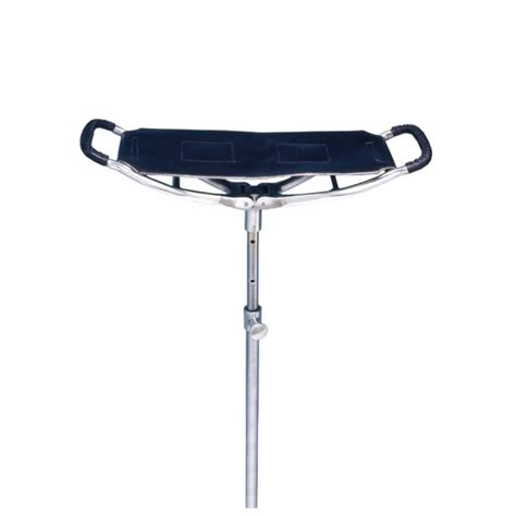 golf spectator seat stick adjustable walking chair