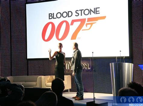 The Closest Blood Bond activision bond event 2010 unveils two new 007