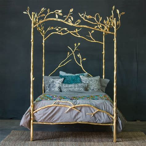 Forest Canopy Bed 24k Gold Forest Canopy Bed 187 Petagadget