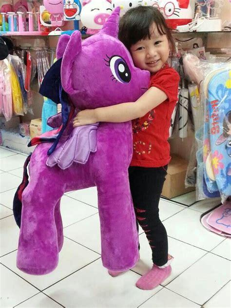 Boneka Kuda Poni Pink Jumbo Xl jual boneka my pony ukuran besar my