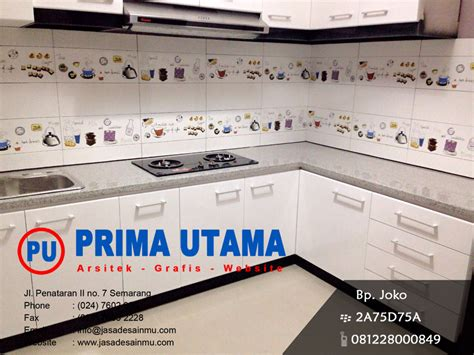 Harga Kitchen Set Di Salatiga kitchen set minimalis salatiga cv prima utama
