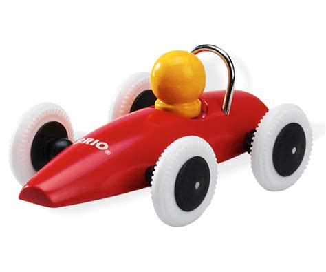brio race car brio racing car red push along baby toy bn ebay