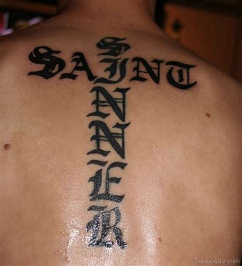 saint sinner tattoo quotes quotesgram