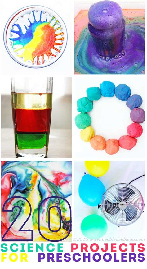 science craft projects 20 science projects for preschoolers