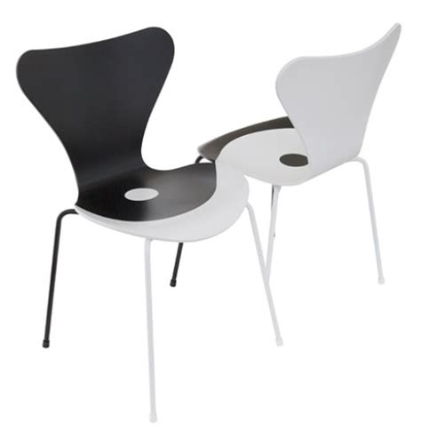 Continuous Form Ikea iconic series 7 chair re edition by architects
