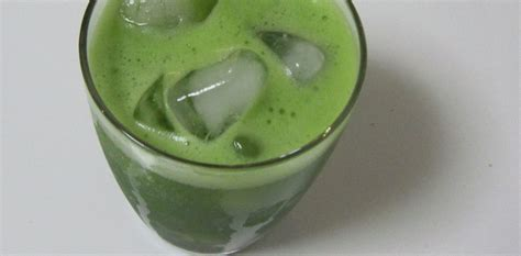 lemon matcha iced green tea recipe