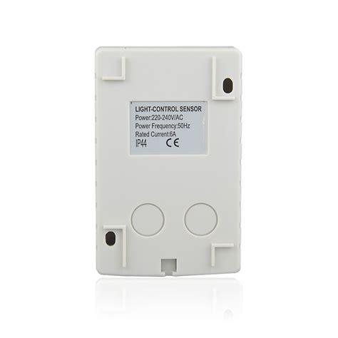 automatic outdoor light timer auto outdoor ip44 photocell light sensor switch with timer