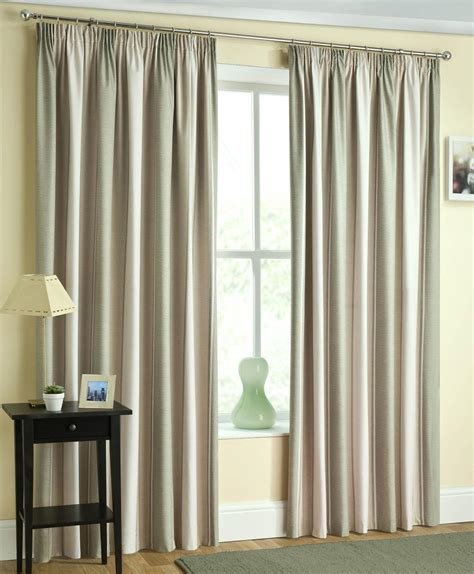 Twilight Ready Made Blackout Pencil Pleat Curtains Navy