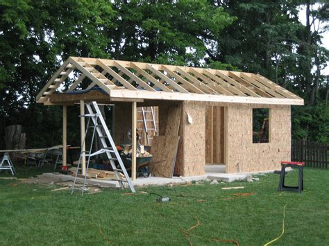 Cutting Roof Rafters For A Shed Roof by Roofing Awesome Shed Roof Framing For Inspiring Shed