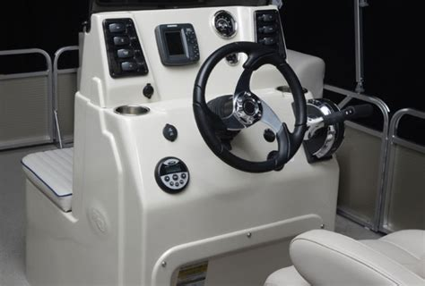 center console fishing boat accessories the angler qwest pontoon boat get serious boats