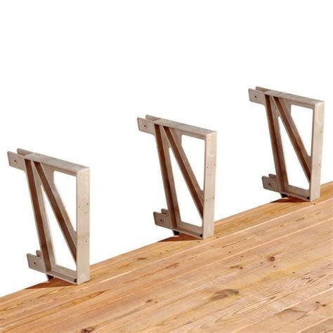 bench brackets lowes deck bench brackets wood 187 design and ideas